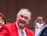 Red Schoendienst in the Red Carpet Parade for the All Star Game