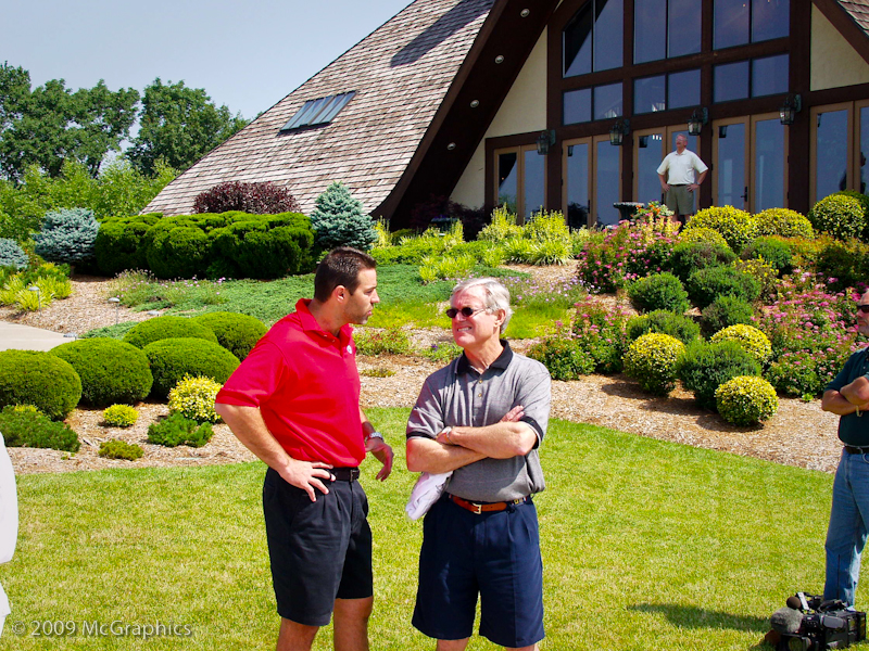 Kurt Warner and Dick Vermeil