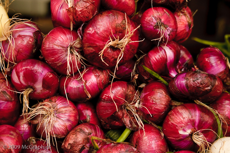 Red Onion at Union Spuare Market, New York