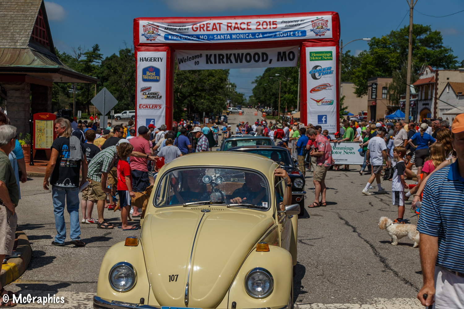Great Race - Kirkwood, Mo